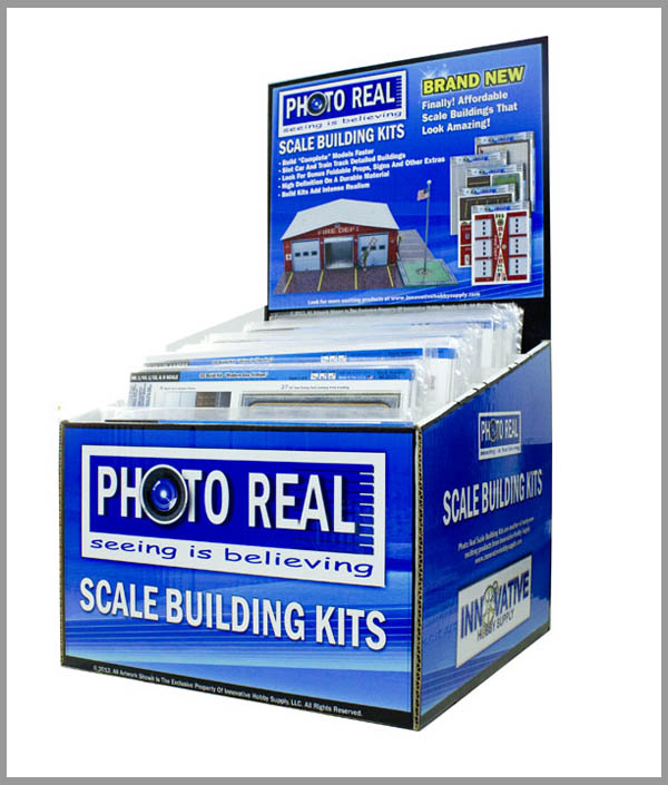 Scale Building Kits Point-of-Sale Display