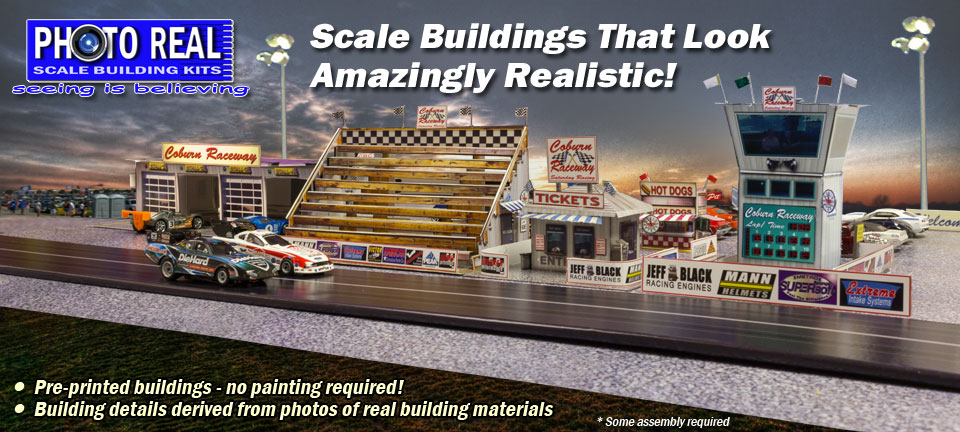 Photo Real Scale Buildings Slide