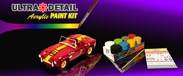 Ultra Detail Paint Kits
