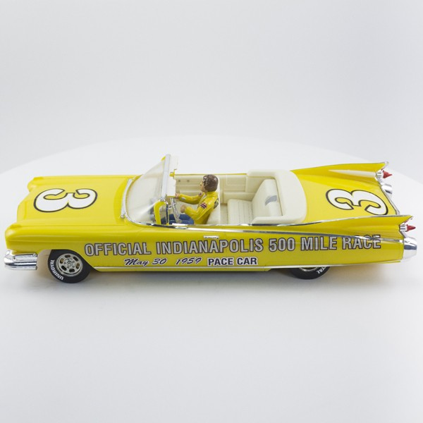 Stock Number: 16150 Yellow 59 Cadillac Concept Indy 500 Pace Car By Tamiya