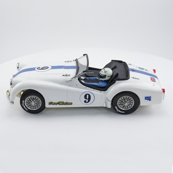 Stock Number: 16159 White TR3 by Tamiya
