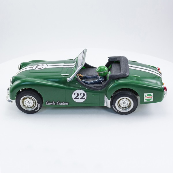 Stock Number: 16161 Green TR3 Rally Car by Revell