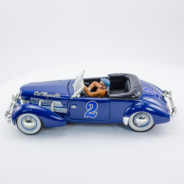 Stock Number: 16163 Blue 1935 Cord Coffin Nose by SCX