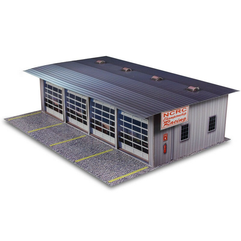 BK 3211 1:32 Scale Pit Garage Building Kit