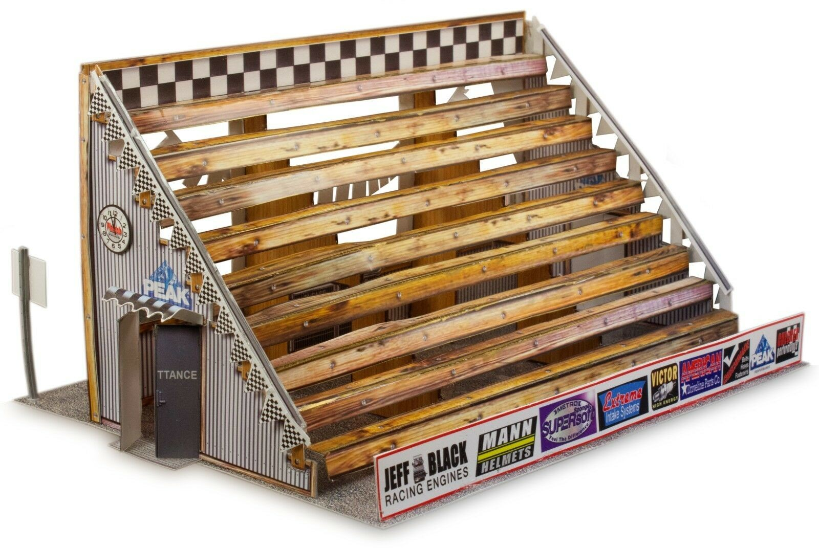 BK 3202 1:32 Scale Bleacher Model Building Kit