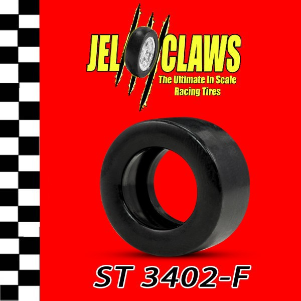 ST 3402-F 1/24 Scale Slot Car Tires for H & R Racing Chassis