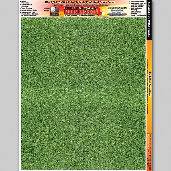 """MG 3833 """"Grass"""" Photo Real 3D Modeling SkinZ"""