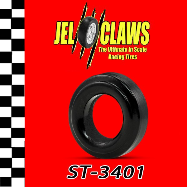 ST 3401 1/24 Scale Slot Car Tire for Strombecker, Maserati 250F, Mercedes, Jaguar D Type, Grand Prix