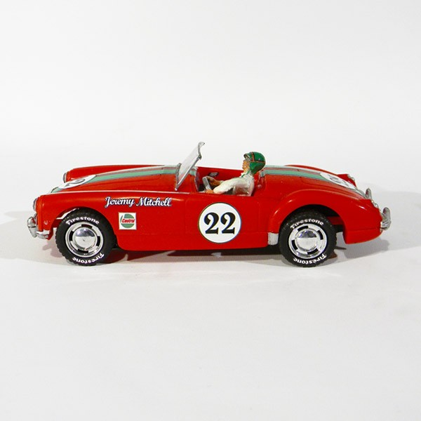 Stock Number: 16108 - MGA Red #22 1/32 Custom