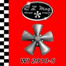 WI-2910-S Silver Classic Five Spoke Mag EZ Mag Wheel Inserts