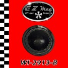 "WI-2913-B Black ""Baby Moon"" Style EZ Mag Wheel Inserts"