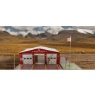 """BK 6414 1:64 Scale """"Fire Department"""" Photo Real Scale Building Kit"""