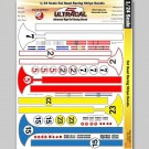 MG 3413 Ultracal Fat Head Racing Stripe Decals for 1:24 Scale Applications