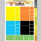 MG 3105 Ultracal Racing Window Tint Decals 1:64 HO Scale