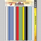 MG 3404 Ultracal Racing Stripe and Decals for 1:24 Scale Applications