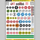 MG 6300-1 Ultracal Racing Roundel Decals Style 1