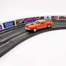 AFX Slot Car Guard Rail Set - PhotoReal FITS: 1/64 & 1/43 Scale Aurora, Model Motoring -Style 1 Logos