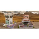 "BK 8701 1:87 Scale ""Race Tower & Ticket Gate Entrance"" Photo Real Scale Building Kit"