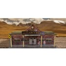 "BK 6417 1:64 Scale ""Train Station"" Photo Real Scale Building Kit"