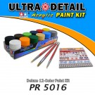 PR 5016 Ultra Detail - Deluxe 12-Color Acrylic Paint Kit