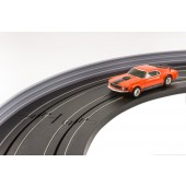 AFX Slot Car Guard Rail Set - PhotoReal FITS: 1/64 & 1/43 Scale Aurora, Model Motoring -Style 2 Grey