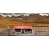 """BK 4820 1:48 Scale """"Diner"""" Photo Real Scale Building Kit"""