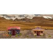 "BK 4803 1:48 Scale ""Garden Houses"" Photo Real Scale Building Kit"
