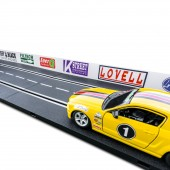 1/24 Slot Car Guard Rails Set - Sponsor FITS: Carrera, Marx