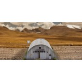 "BK 4800 1:48 Scale ""Quonset Hut"" Photo Real Scale Building Kit"