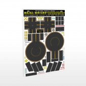 1/64 Scale Model Real Roads STYLE-2 Intersections & Cul-de-sacs