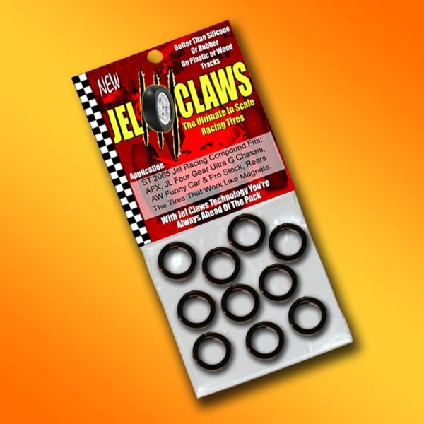st  jel claws slot car tires   scale afx jl aw  gear ultra  chassis rears
