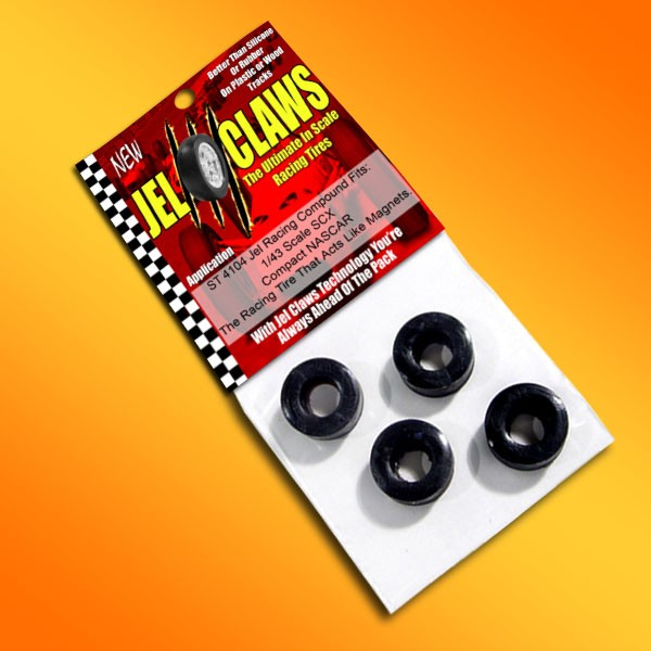 ST-4104 Jel Claws tire for 1/43 Stock car