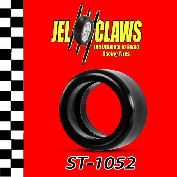 St 1052 Slot Car Tires Rear For Scalextric 1 32 Scale