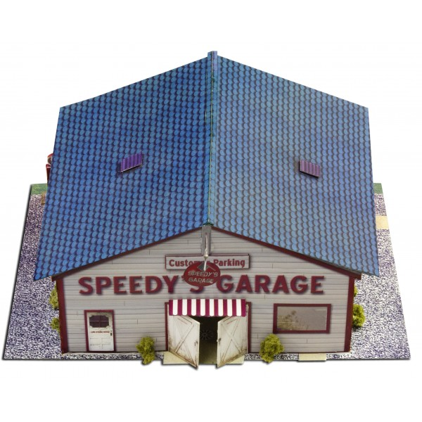 Bk 6422 1 64 scale speedy 39 s garage photo real scale for Garage speedy paris