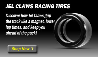 Jel Claws slot car tires