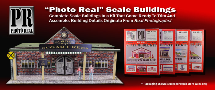 1/72 - 1/220 Scale Building Kits