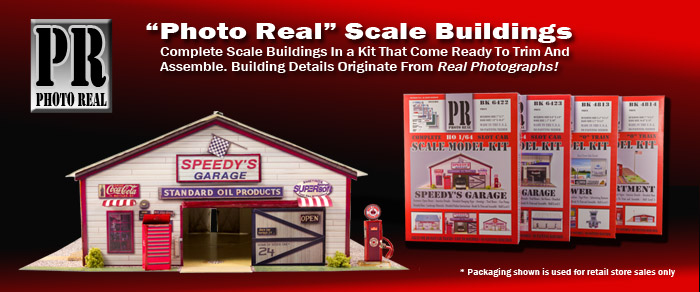 1/64 Scale Building Kits