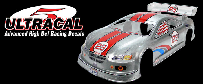 1:18 Scale RC Decals