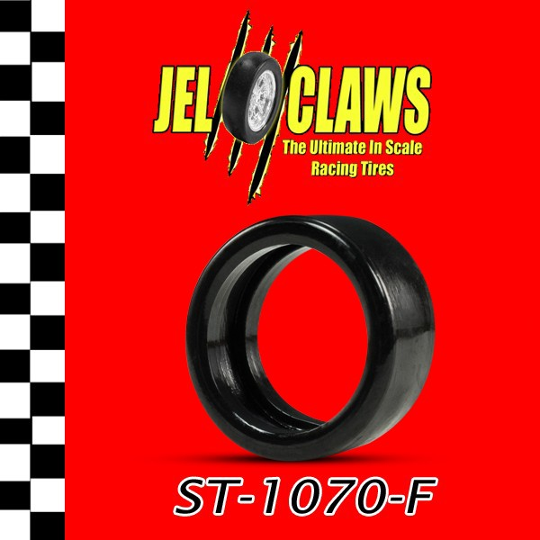 ST 1070-F 1/32 Slot Car Tire for Carrera '41 Willys Gasser and '32 Ford Hot Rod - Fronts