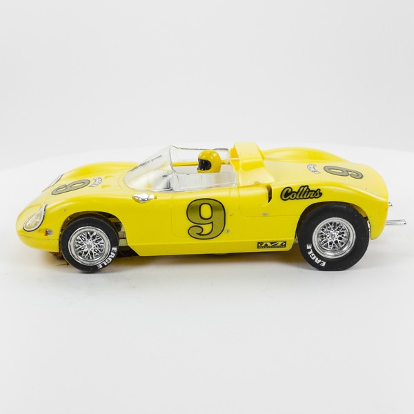 Stock Number: 16106 - Yellow Car Number 9 by Unknown