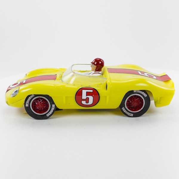 Stock Number: 16111 - Yellow Number 5 Car by Unknown