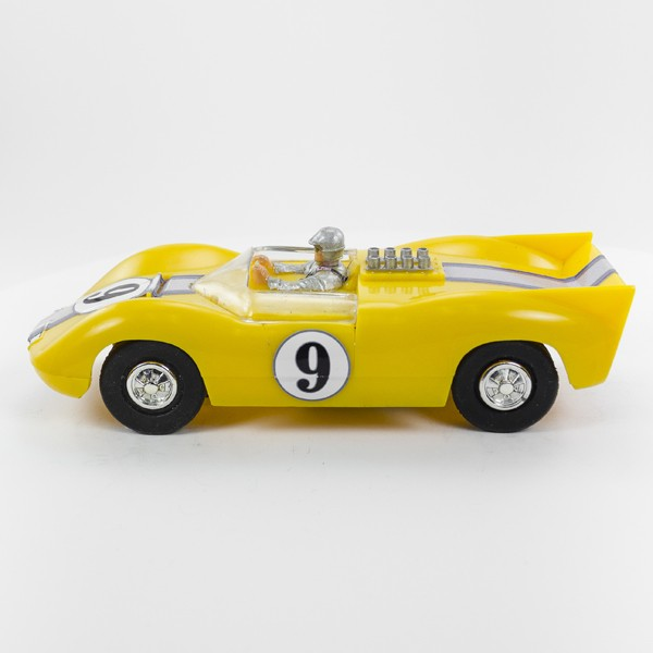 Stock Number: 16112 - Yellow Open Top Num 9 by Unknown