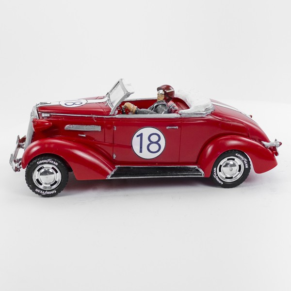 Stock Number: 16116 - Red Eighteen Car by Unknown