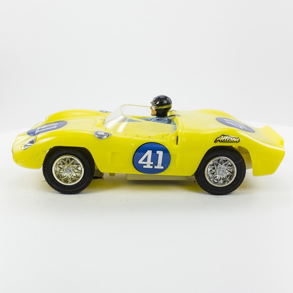 Stock Number: 16117 - Yellow Open Top Number 1 Car by Unknown