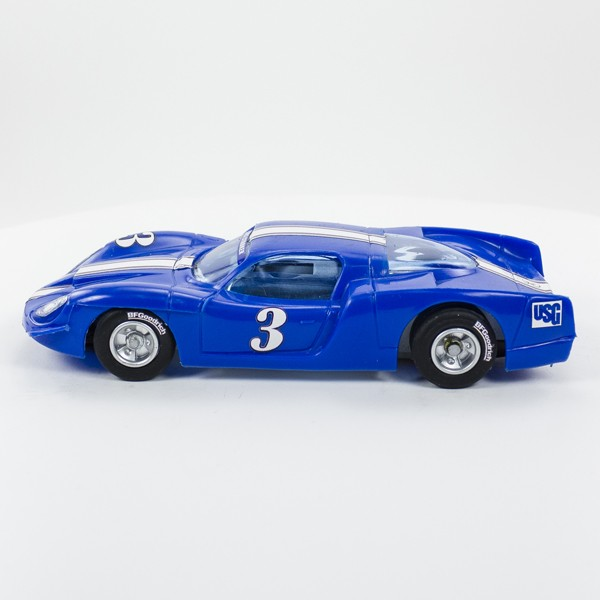 Stock Number: 16118 - Blue Number 3 Car by Unknown