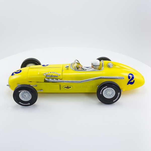 Stock Number: 16121 Yellow Indy 500 Vintage Race Car by Revell