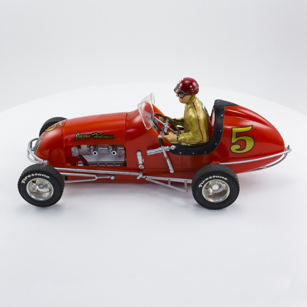 Stock Number: 16122 Red Vintage Sprint Car by Revell