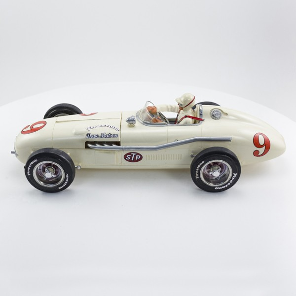 Stock Number: 16123 White Indy Car by Revell