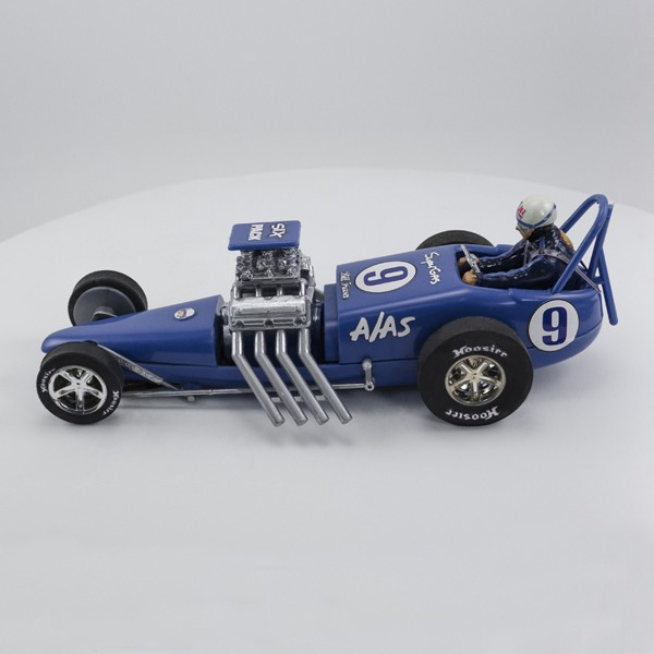 Stock Number: 16139 Blue Vintage Slingshot Dragster by Revell