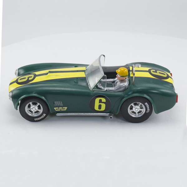 Stock Number: 16144 Green Cobra by Scalextric
